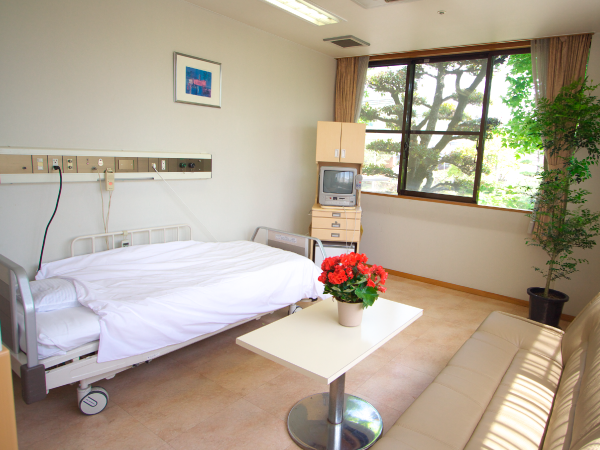入院設備の写真